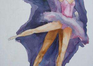 2007 8 | Ballet m/v - Aquareltechniek - 60x80