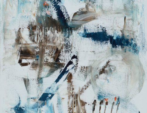 Blue white birds