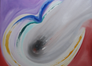 Freedom - Olieverf op doek - 50x50